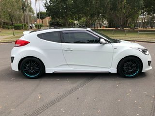 2014 Hyundai Veloster FS3 SR Turbo White 6 Speed Manual Coupe.
