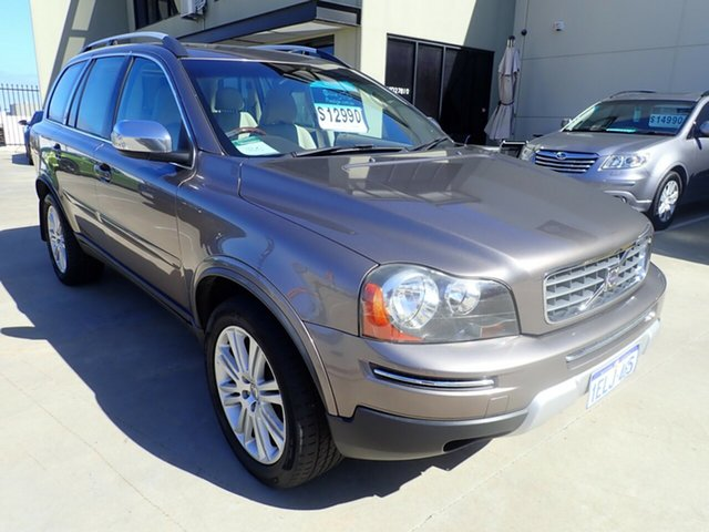 Used Volvo XC90 P28 MY08 D5, 2007 Volvo XC90 P28 MY08 D5 Bronx Bronze 6 Speed Sports Automatic Wagon