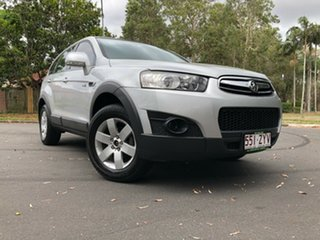 2012 Holden Captiva CG MY12 7 SX (FWD) Silver 6 Speed Automatic Wagon.