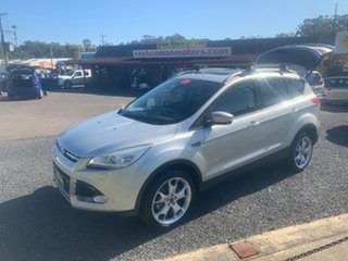 2013 Ford Kuga TF TITANIUM AWD 1.6T Silver 6 Speed Sports Automatic Wagon