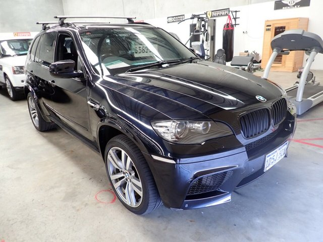 Used BMW X5 M E70 MY11.5 Steptronic Wangara, 2011 BMW X5 M E70 MY11.5 Steptronic Deep Sea Blue 6 Speed Sports Automatic Wagon