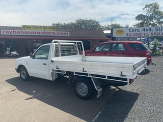 2005 Ford Courier 2X4 2.6 PETROL White 5 Speed Manual Trayback.