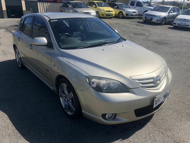 Used Mazda 3 BK1031 SP23 Hampstead Gardens, 2005 Mazda 3 BK1031 SP23 Gold 4 Speed Sports Automatic Hatchback