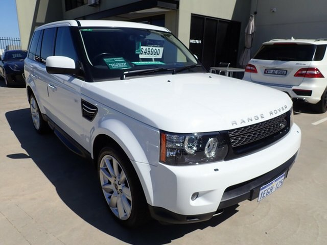 Used Land Rover Range Rover Sport L320 13MY SDV6, 2013 Land Rover Range Rover Sport L320 13MY SDV6 White Satin 6 Speed Sports Automatic Wagon