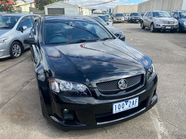 Used Holden Commodore VE MY08 SS Hoppers Crossing, 2008 Holden Commodore VE MY08 SS Black 6 Speed Automatic Sedan