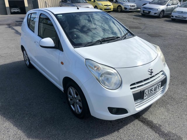 Used Suzuki Alto GF GLX Hampstead Gardens, 2009 Suzuki Alto GF GLX White 5 Speed Manual Hatchback