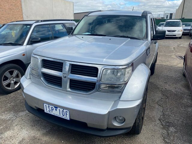 Used Dodge Nitro KA MY08 SXT, 2008 Dodge Nitro KA MY08 SXT Silent Silver 5 Speed Sports Automatic Wagon