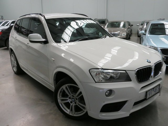 Used BMW X3 F25 MY0412 xDrive20d Steptronic, 2012 BMW X3 F25 MY0412 xDrive20d Steptronic Ibis White 8 Speed Automatic Wagon