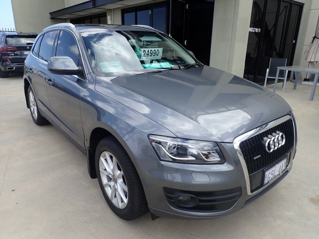 Used Audi Q5 8R MY12 TDI S Tronic Quattro, 2012 Audi Q5 8R MY12 TDI S Tronic Quattro Grey Metallic 7 Speed Sports Automatic Dual Clutch Wagon