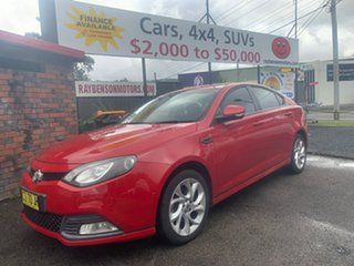 2016 MG MG6 Turbo Red 5 Speed Manual Coupe