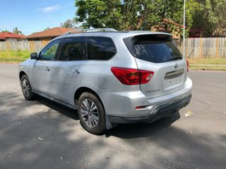 2018 Nissan Pathfinder R52 MY17 Series 2 ST-L (4x4) Silver Continuous Variable Wagon
