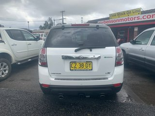 2011 Holden Captiva 7 CX SERIES II CG 4X4  White 6 Speed Automatic Wagon