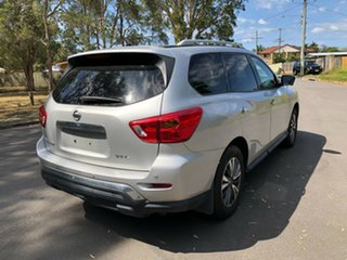 2018 Nissan Pathfinder R52 MY17 Series 2 ST-L (4x4) Silver Continuous Variable Wagon.