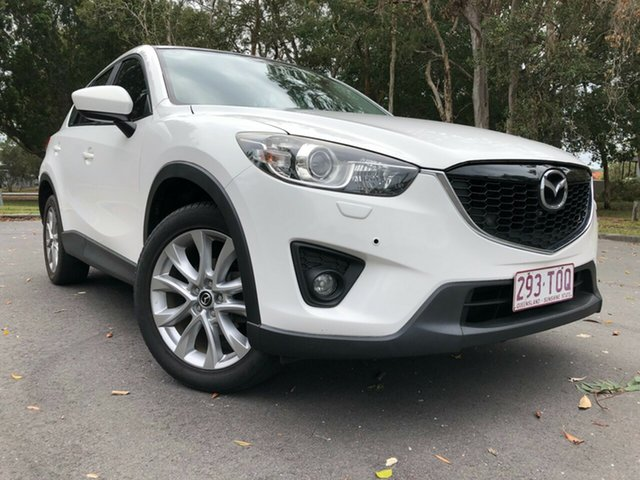 Used Mazda CX-5 Grand Tourer (4x4) Underwood, 2013 Mazda CX-5 Grand Tourer (4x4) White 6 Speed Automatic Wagon