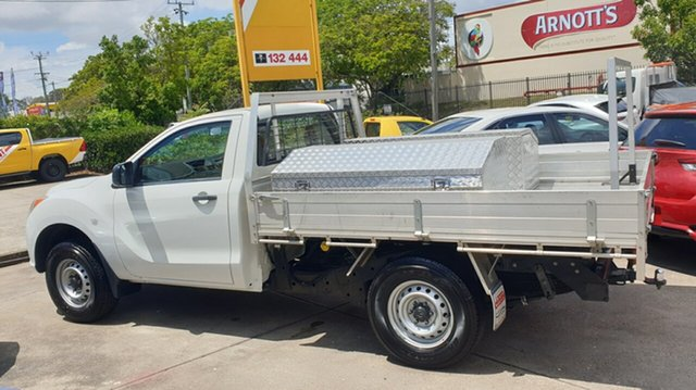 Used Mazda BT-50 UP0YD1 XT 4x2, 2013 Mazda BT-50 UP0YD1 XT 4x2 White 6 Speed Manual Cab Chassis