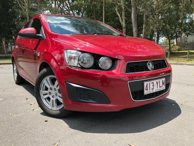 Used Holden Barina TM MY14 CD Underwood, 2014 Holden Barina TM MY14 CD Red 6 Speed Automatic Hatchback