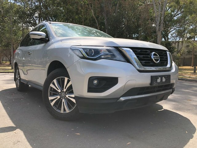 Used Nissan Pathfinder R52 MY17 Series 2 ST-L (4x4) Underwood, 2018 Nissan Pathfinder R52 MY17 Series 2 ST-L (4x4) Silver Continuous Variable Wagon