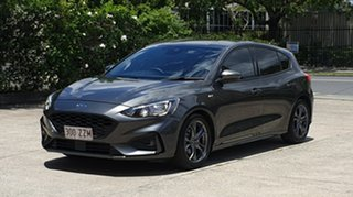 2018 Ford Focus SA 2019MY ST-Line Dark Grey Mica 8 Speed Automatic Hatchback