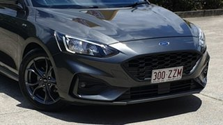 2018 Ford Focus SA 2019MY ST-Line Dark Grey Mica 8 Speed Automatic Hatchback.