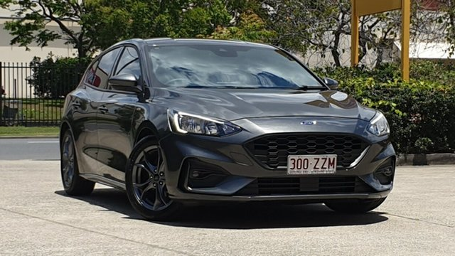 Used Ford Focus SA 2019MY ST-Line Virginia, 2018 Ford Focus SA 2019MY ST-Line Dark Grey Mica 8 Speed Automatic Hatchback