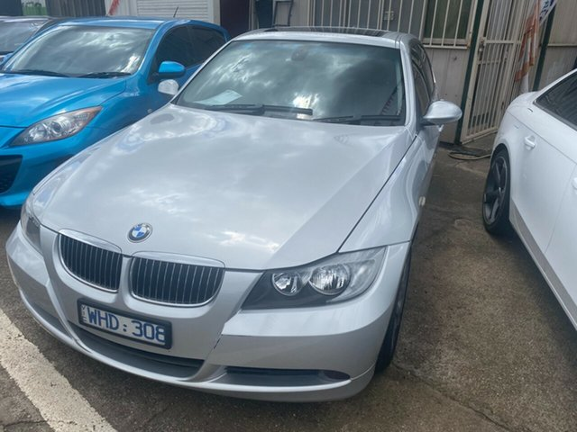 Used BMW 325i E90 Hoppers Crossing, 2006 BMW 325i E90 Silver 6 Speed Auto Steptronic Sedan