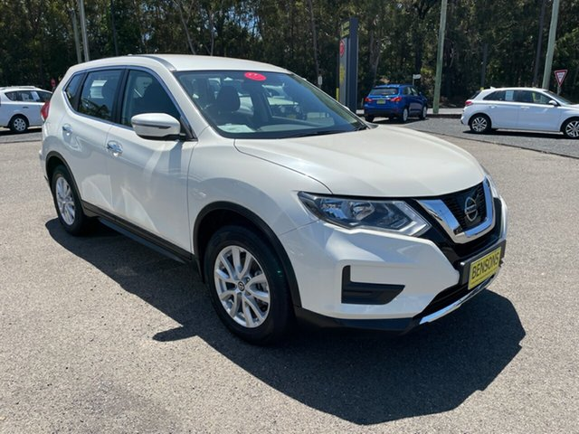 Used Nissan X-Trail ST Coffs Harbour, 2019 Nissan X-Trail AWD ST White 6 Speed Automatic Wagon