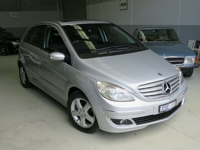 Used Mercedes-Benz B-Class W245 B200 Seaford, 2006 Mercedes-Benz B-Class W245 B200 Silver 7 Speed Constant Variable Hatchback
