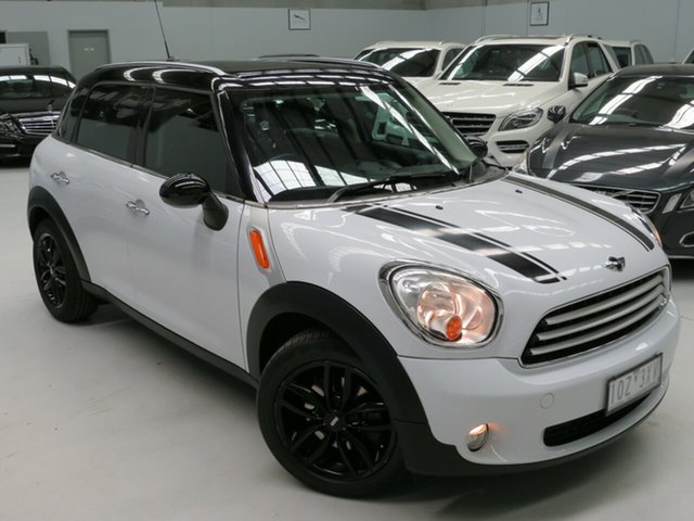 Used Mini Countryman R60 Cooper D Seaford, 2011 Mini Countryman R60 Cooper D White 6 Speed Sports Automatic Wagon
