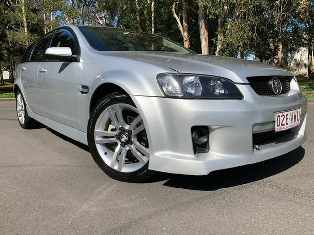 Used Holden Commodore Underwood, 2010 Holden Commodore VE II SV6 Silver Automatic Sportswagon