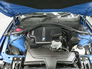 2013 BMW 4 Series F32 428i M Sport Estoril Blue 8 Speed Sports Automatic Coupe