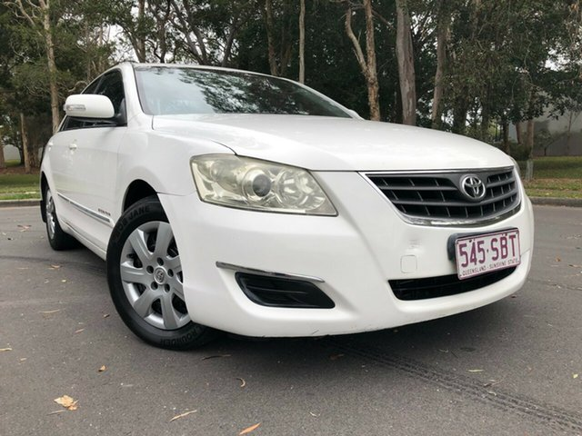 Used Toyota Aurion GSV40R AT-X Underwood, 2008 Toyota Aurion GSV40R AT-X White 6 Speed Auto Sequential Sedan