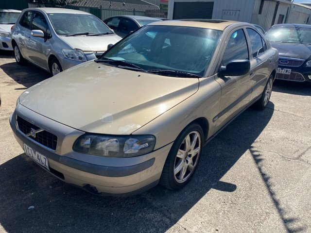 Used Volvo S60 MY04 AWD Hoppers Crossing, 2004 Volvo S60 MY04 AWD Beige 5 Speed Auto Geartronic Sedan