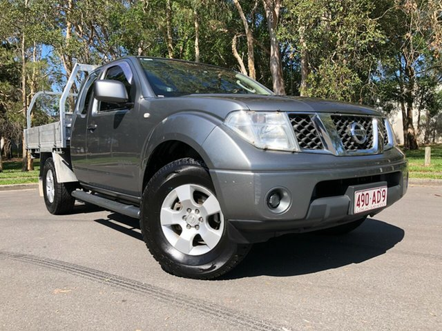 Used Nissan Navara Underwood, 2010 Nissan Navara D40 ST-X KING C Grey Manual Utility