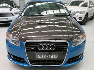 2005 Audi S4 B7 Quattro Mauritius Blue 6 Speed Sports Automatic Sedan