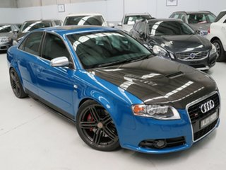 2005 Audi S4 B7 Quattro Mauritius Blue 6 Speed Sports Automatic Sedan.