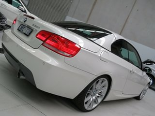 2009 BMW 3 Series E93 MY09 335i D-CT White 7 Speed Sports Automatic Dual Clutch Convertible