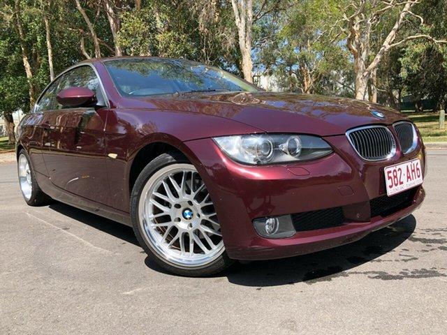 Used BMW 323i E92 Underwood, 2008 BMW 323i E92 Red 6 Speed Auto Steptronic Coupe