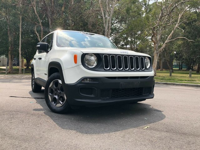 Used Jeep Renegade BU Sport Underwood, 2015 Jeep Renegade BU Sport White 6 Speed Auto Dual Clutch Wagon