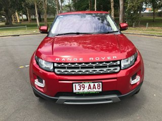 2012 Land Rover Range Rover Evoque LV SI4 Pure Red 6 Speed Automatic Wagon