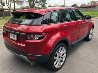 2012 Land Rover Range Rover Evoque LV SI4 Pure Red 6 Speed Automatic Wagon.