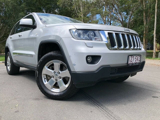 Used Jeep Grand Cherokee WK Laredo (4x4) Underwood, 2012 Jeep Grand Cherokee WK Laredo (4x4) Silver 5 Speed Automatic Wagon