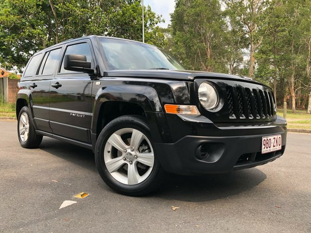 Used Jeep Patriot MK MY14 Sport (4x2) Underwood, 2014 Jeep Patriot MK MY14 Sport (4x2) Black 5 Speed Manual Wagon