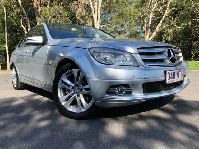 Used Mercedes-Benz C220 W204 CDI Avantgarde SE Underwood, 2009 Mercedes-Benz C220 W204 CDI Avantgarde SE Silver 5 Speed Auto Tipshift Wagon