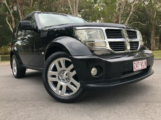 Used Dodge Nitro KA MY08 SX Underwood, 2009 Dodge Nitro KA MY08 SX Black 4 Speed Automatic Wagon