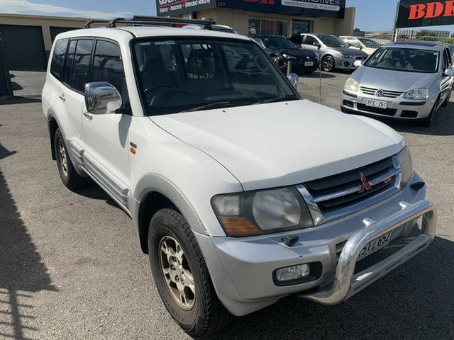 Used Mitsubishi Pajero NM Exceed Hampstead Gardens, 2001 Mitsubishi Pajero NM Exceed White 5 Speed Sports Automatic Wagon