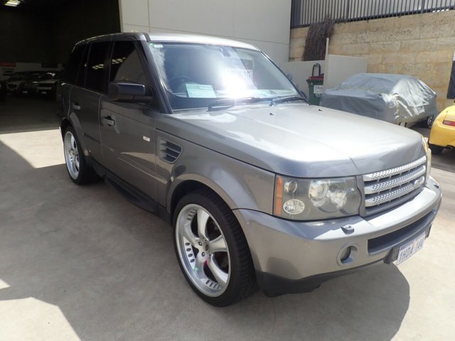 Used Land Rover Range Rover Sport L320 09MY TDV6 Wangara, 2009 Land Rover Range Rover Sport L320 09MY TDV6 Dark Grey Mica 6 Speed Sports Automatic Wagon
