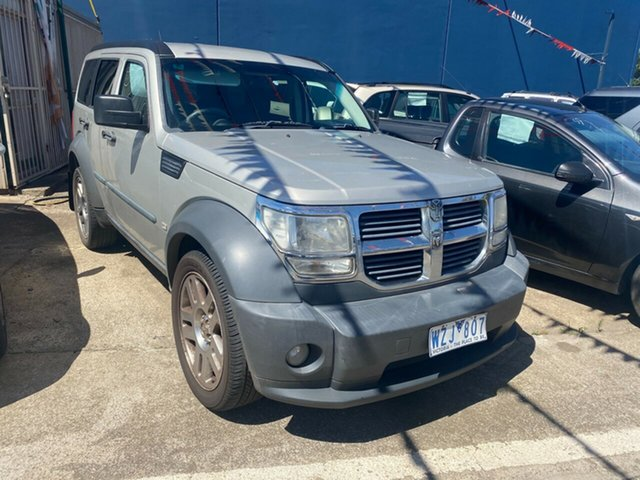 Used Dodge Nitro KA MY08 SX Hoppers Crossing, 2009 Dodge Nitro KA MY08 SX Silver 4 Speed Automatic Wagon