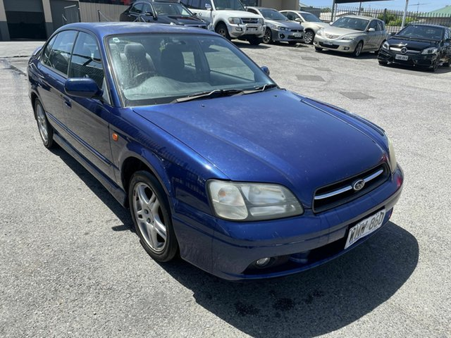 Used Subaru Liberty B3 MY00 RX AWD Hampstead Gardens, 2000 Subaru Liberty B3 MY00 RX AWD Blue 4 Speed Automatic Sedan