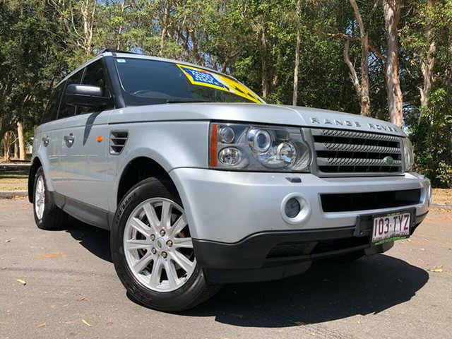 Used Land Rover Range Rover MY09 Sport 2.7 TDV6 Underwood, 2008 Land Rover Range Rover MY09 Sport 2.7 TDV6 Silver 6 Speed Auto Sequential Wagon
