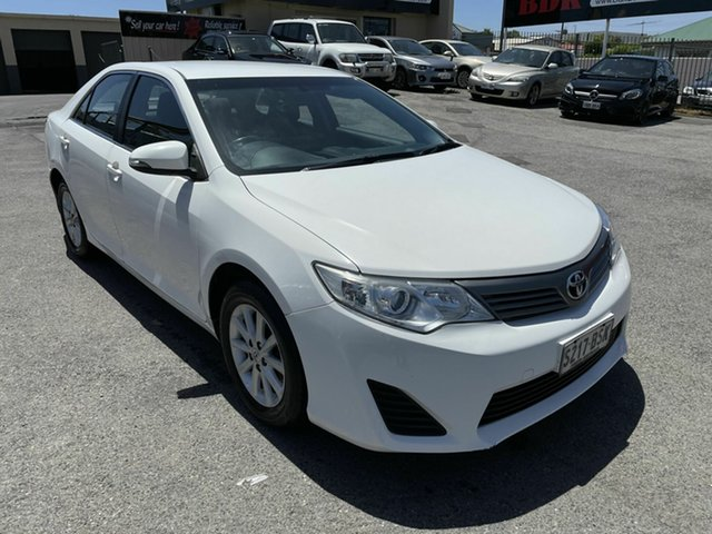 Used Toyota Camry ASV50R Altise Hampstead Gardens, 2013 Toyota Camry ASV50R Altise White 6 Speed Sports Automatic Sedan